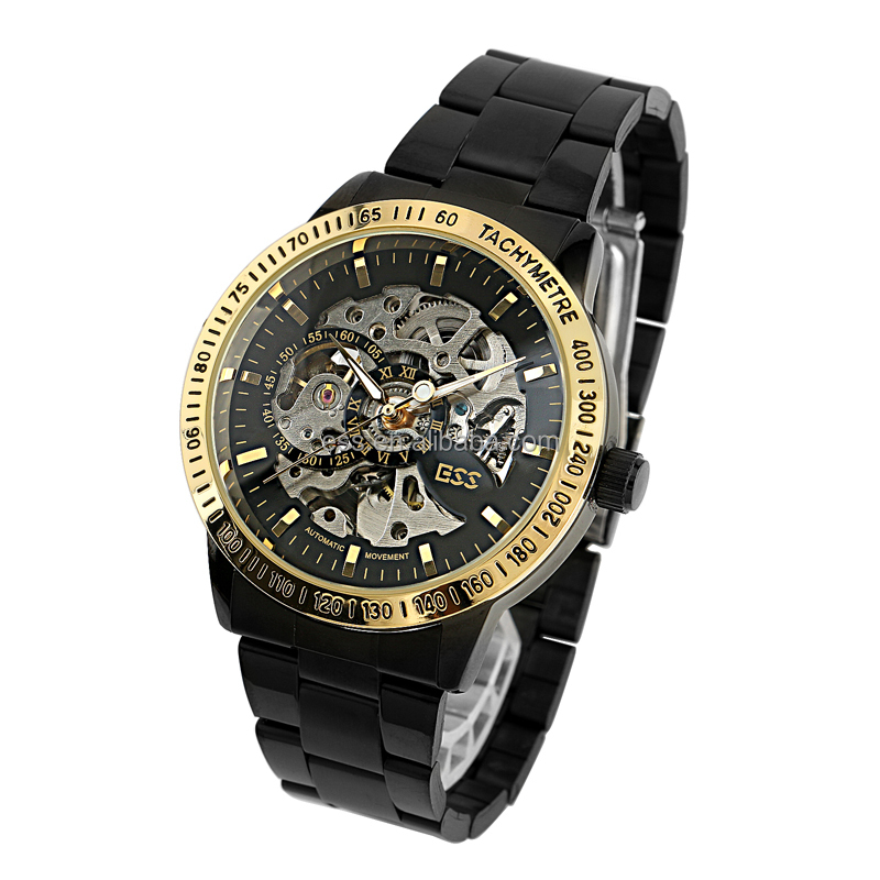 whole ess brand new skeleton automatic mechanical watch for ess brand new skeleton automatic mechanical watch for men stainless steel mens watches wm399 ess