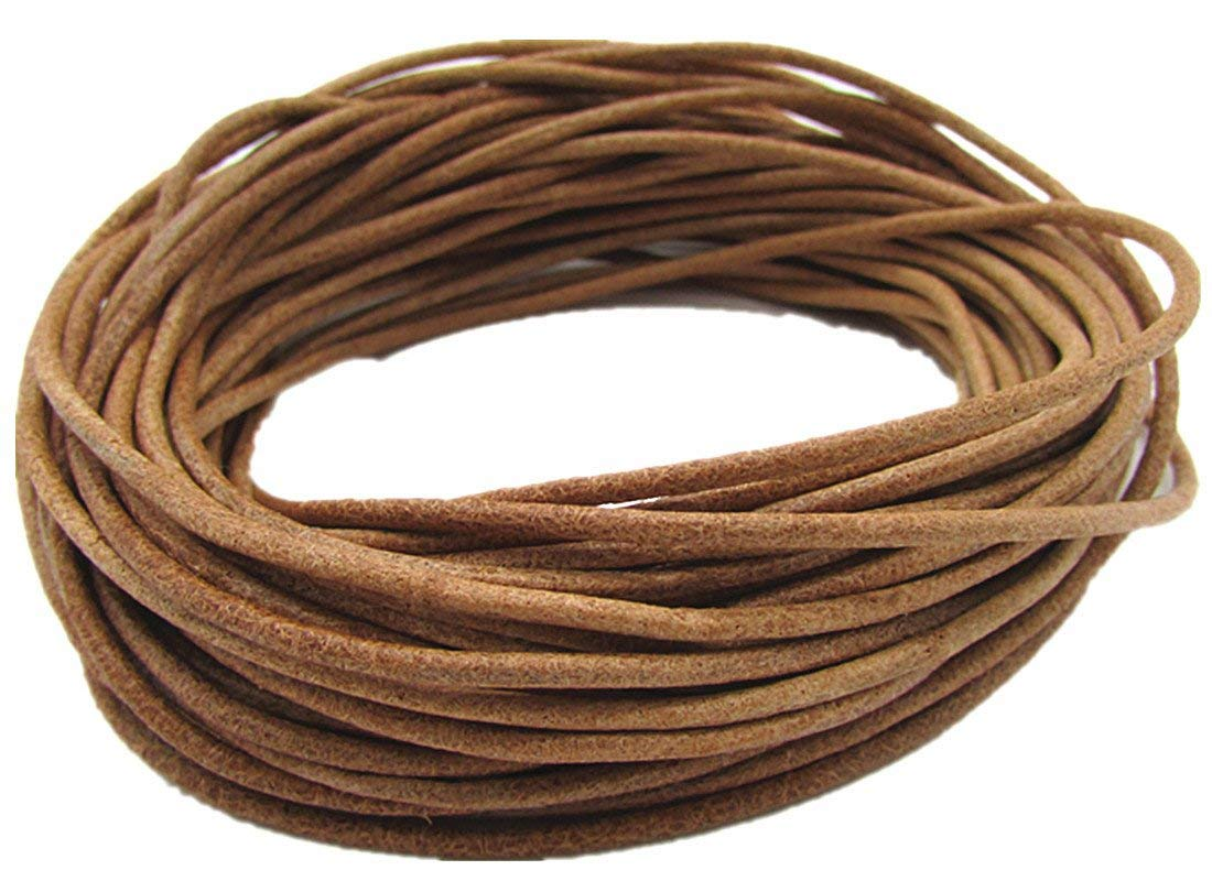 5.0mm Genuine Flat Leather Cords for Bracelet Neckacle Beading Jewelry Making 5meter Dark Red