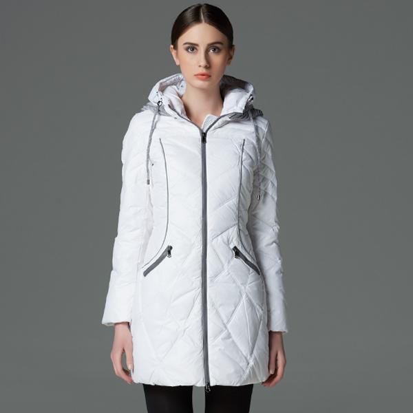 Г-жа icebear2015 зима длинная утолщение вниз куртка пальто большой yardsfashion