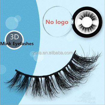 private label 100% siberian mink hair eye lashes 3D wholesale false eyelashes