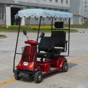 Electric Double Seat Mobility Scooter, Electric Double Seat