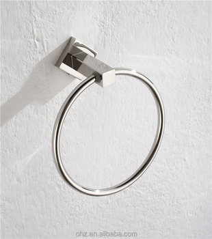 Sanitary ware Stainless steel towel ring bathroom accessory sets