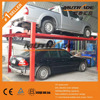 Four post mechanical car parking lift factory price