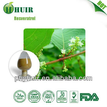 Resveratrol 50%-99% Extract Powder in stock in US