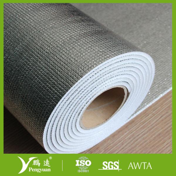 Double Sides Mpet Woven Fabric Xpe Foam Mylar Sheet