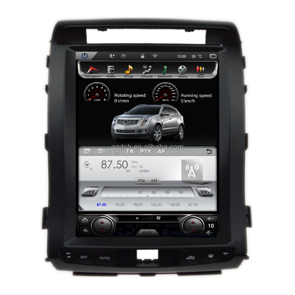 12.1 inch android <strong>car</strong> dvd player for <strong>car</strong> for <strong>toyota</strong> land cruiser 08-15 year Tesla screen style quad core 32G WS-1201