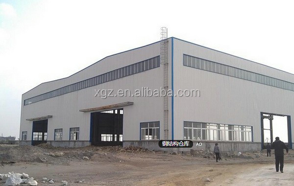 insulated portal steel structure warehouse
