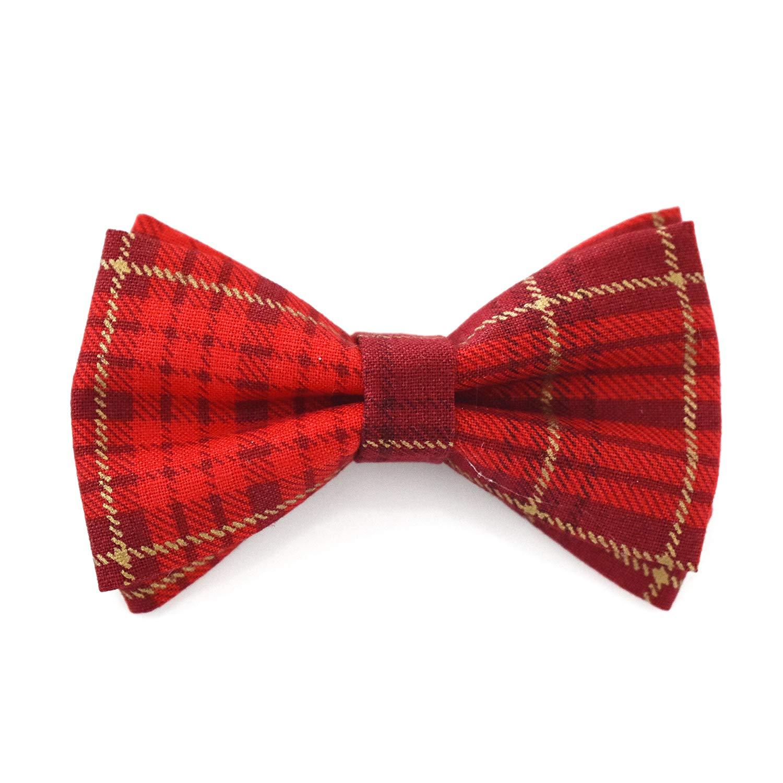 SYAYA Boy Polka Dot Adjustable Bow Tie Pre Bowtie for Kids CLJ01