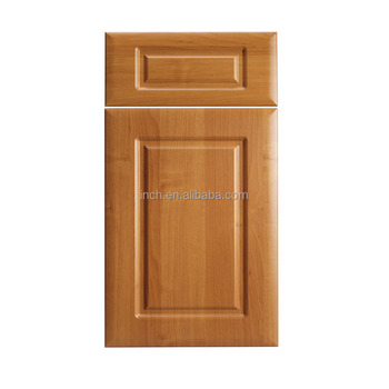 Cherry Wood Pvc Plastic Kitchen Cabinet Doors And Drawer Fronts