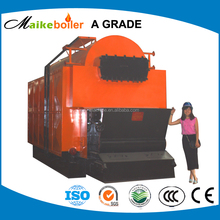 DZL coal fired travelling chain grate stoker steam boiler,small commercial steam boiler price