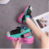 Fashion hot sale breathable casual sports shoes for women