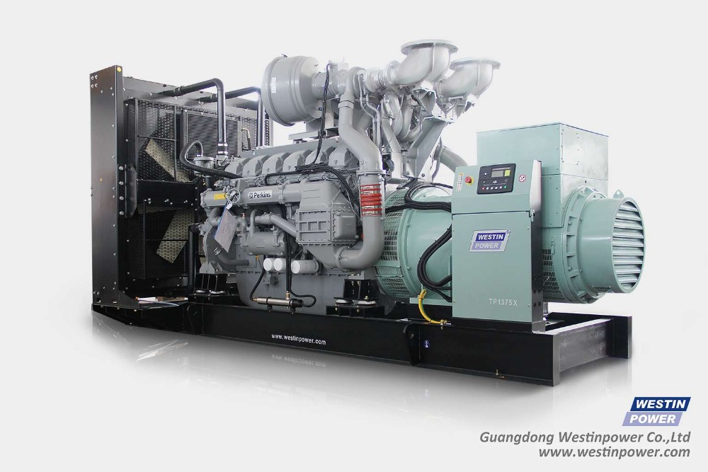 1000kva Cummins Diesel Generator powered by KTA38-G5