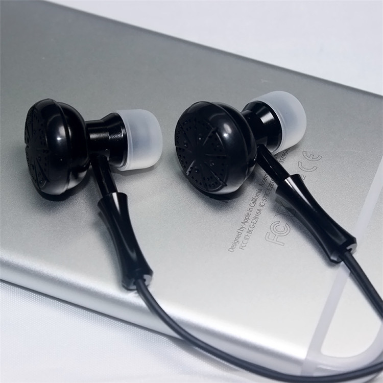 Factory direct high quality game headphone creative metal both sides earphone