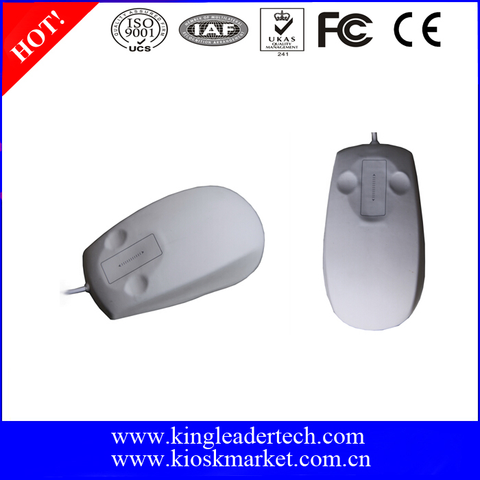 Waterproof Wired Laser Mouse with Scrolling Touchpad