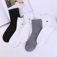 New commercial socks wholesale socks men's pure color spring/summer 2019 hot style