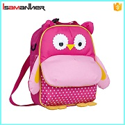HOT! Outdoor picnic travel kids lunchbags, Cute owl toddler backpack