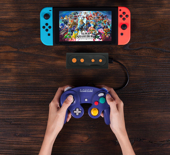 Wireless Adapter for Nintendo Switch (Works with Wired GameCube & Classic Edition Controllers)
