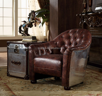 Brilliant Antique Chesterfield Leather Sofa With End Table Traditional American Brown Leather Chair Buy Chesterfield Leather Sofa American Leather Sofa Brown Alphanode Cool Chair Designs And Ideas Alphanodeonline