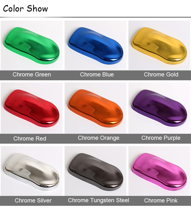 1.52*30M Carlas Chrome Mirror Vehicle Wrapping Stickers Foil Glossy Vinyl Film Body Car Wrap Vinyl
