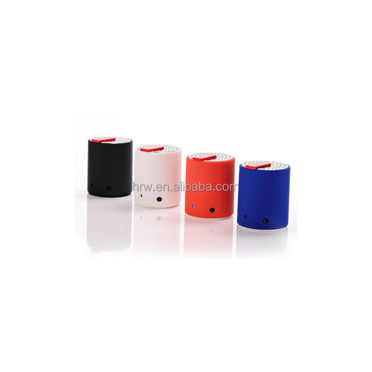 6 colors portable mini active speaker wireless home metal wireless speaker