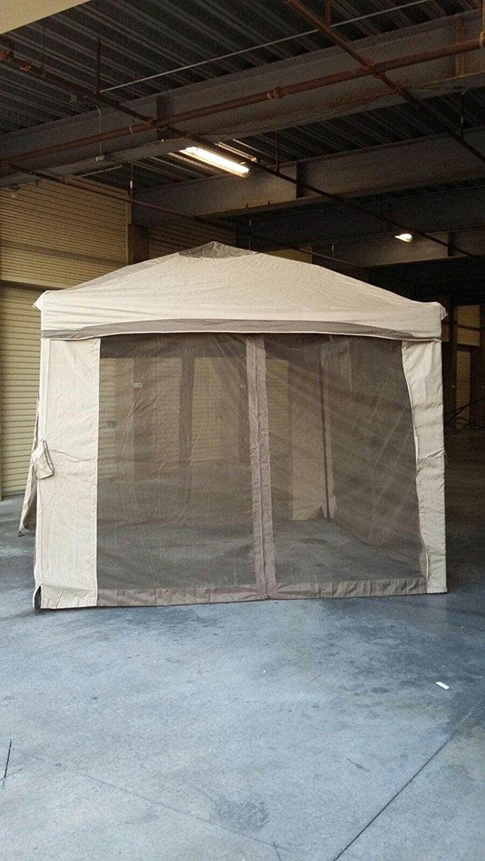 Portable Patio Gazebo With Single Roof Netting