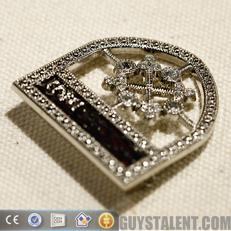 Custom private design Metal commemorative badge with pin