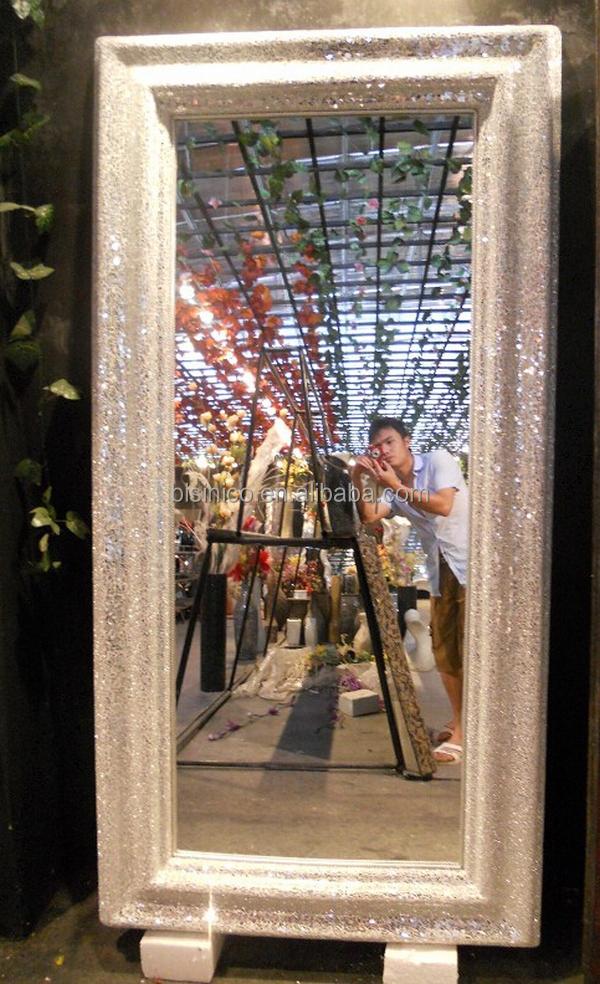 Classical Design Oval Decorative Dressing Mirror European