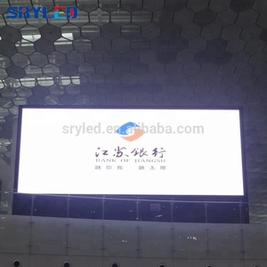SRY full color led digital sign board p5 smd indoor full color led screen videos led display wall