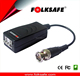 Folksafe 3 pin HD video balun wireless connector bnc with ground loop isolater