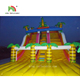 giant inflatable slip and slide Inflatable Dry Slide Tropical Rain Forest Wet And Dry Slip And Slide For Rental House