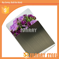 kitchen supplier 2B stainless steel sheet hairline for cabin