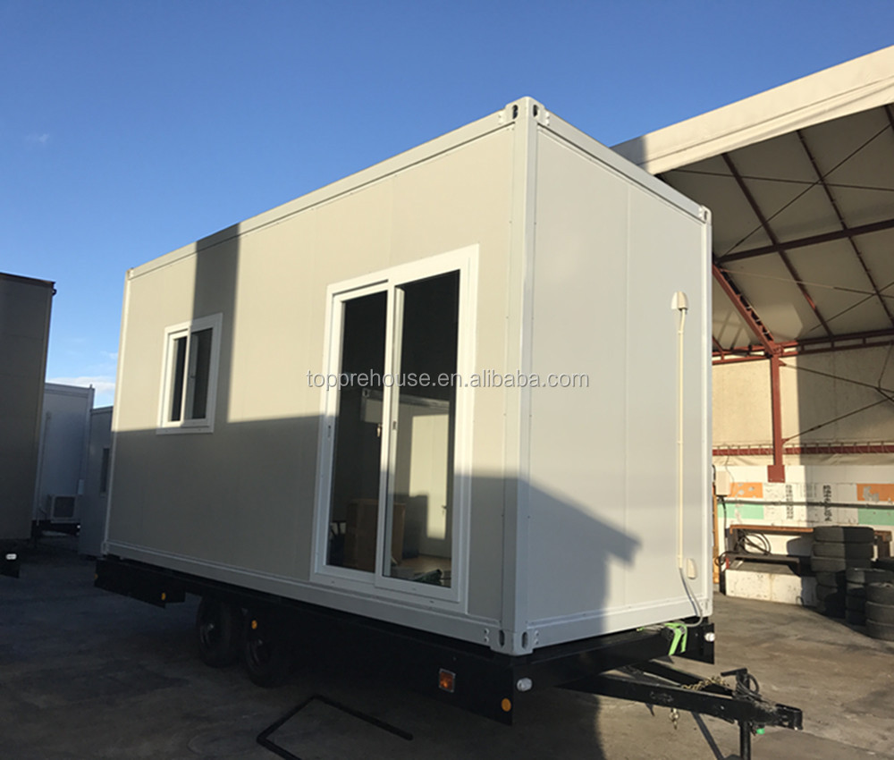 Travel Trailer House Mobile Temporary Contraction Site Container Small Office Buy Temporary Site Office Trailer Houses Container Site Office Container Product On Alibaba Com
