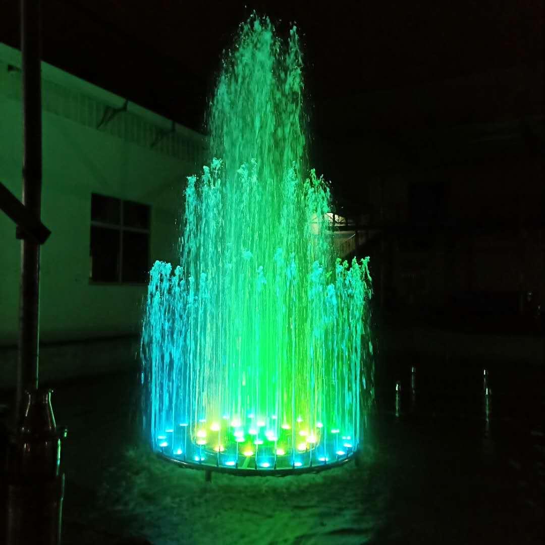 Mini 3 de música de baile fuentes de agua con un diámetro de 1,2 M