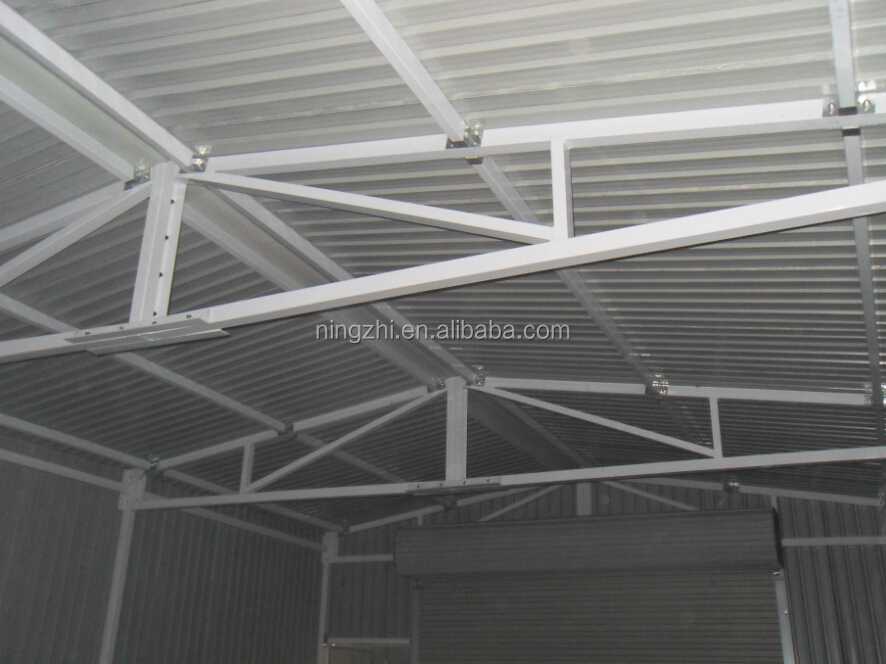 Prefabricated Steel Roof Frame Canopy Metal Structure For