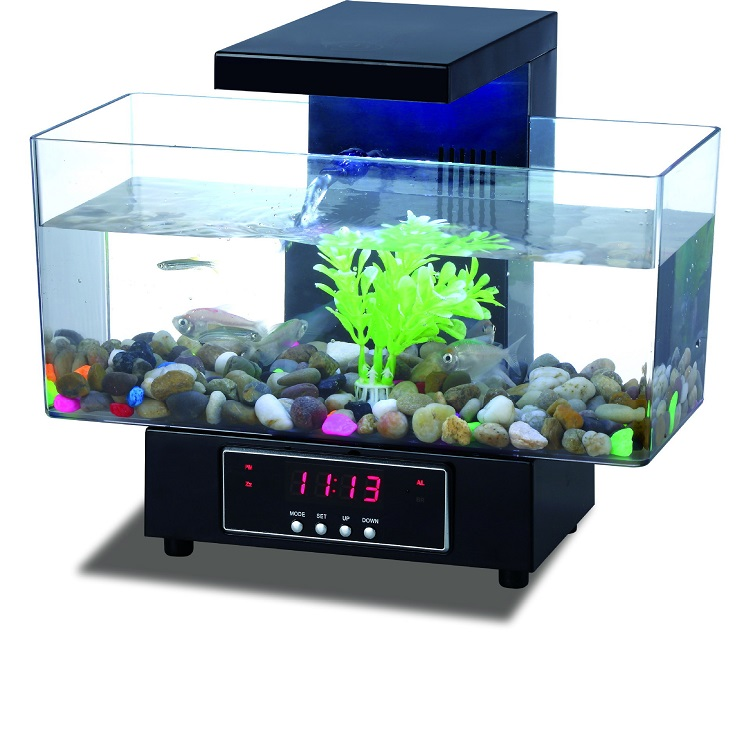 Aquarium Fish Shop Supply Beste USB Acryl Aquarium Voor Live Betta Vis