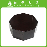 2017 Luxury and exquisite printing wooden jewelry box and ring box Yixing
