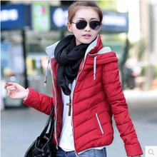 2016 mulheres básico tops jacket plus size feminino manteau casaco fino outono zíper gola outerwear ocasional de manga comprida acolchoado