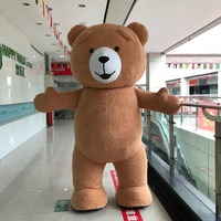 New Style Inflatable Costume Inflatable Teddy Bear For Advertising 3M Tall Customize For Adult Suitable For 1.6m To 1.8m Adult