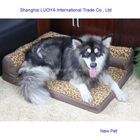 Top level stylish design pet bed dog sofa country lodge dog house