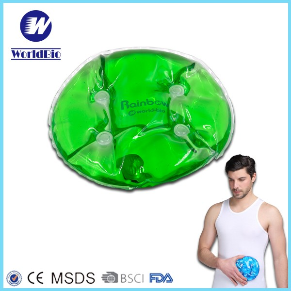 Reusable Round Hot Pack Hand Warmer for Therapy