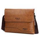 Leather men messenger bag fashion men business crossbody bag POLO Sulppai shoulder bag briefcase
