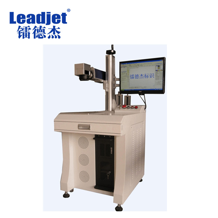 Industrial fiber laser marking machine <strong>date</strong> and logo laser printer