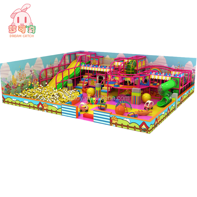 Hot sale children entertainment equipment indoor play center kids play area in India