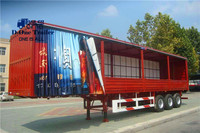 China supplier cheap price curtain side truck for sale curtain side container for sale
