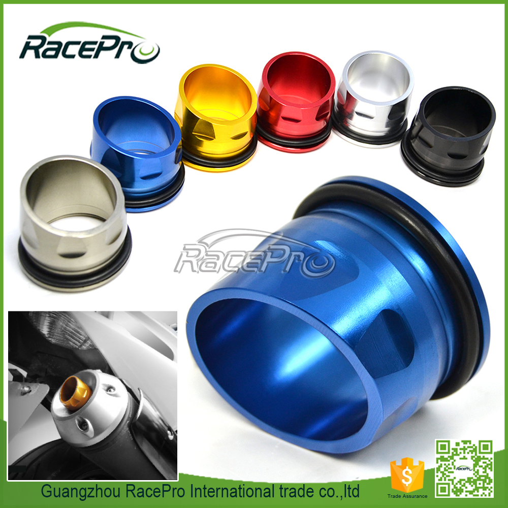 Custom CNC Aluminum Motorcycle Exhaust Tip Cover for T max 530