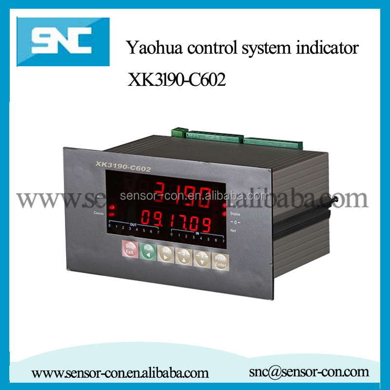 yaohua XK3190-C602 Control System Indicator digital display weighing indicator