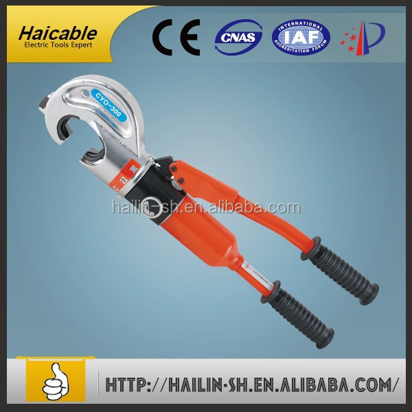 Electronics Construction steel wire cable tensioner 35-300mm2 With Automatically relief working pressure CYO-300