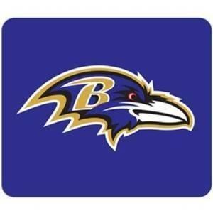 NFL Officially Licensed Neoprene Mouse Pad (Baltimore Ravens)