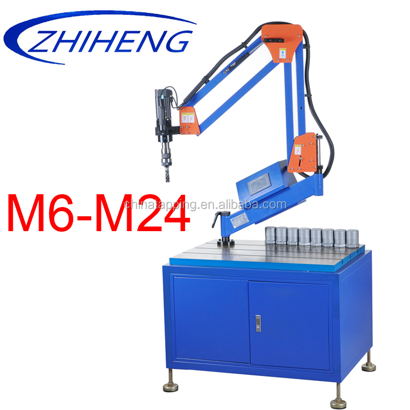 cnc drill and tapping machine with touch screen for machinery manufacturing industrial bench tapping machine