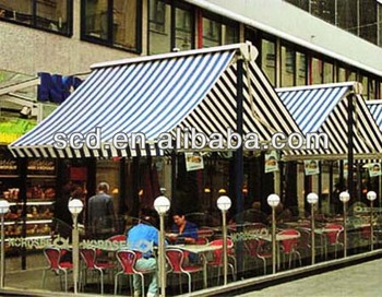 Two Sided Retractable Awning Commercial Awnings